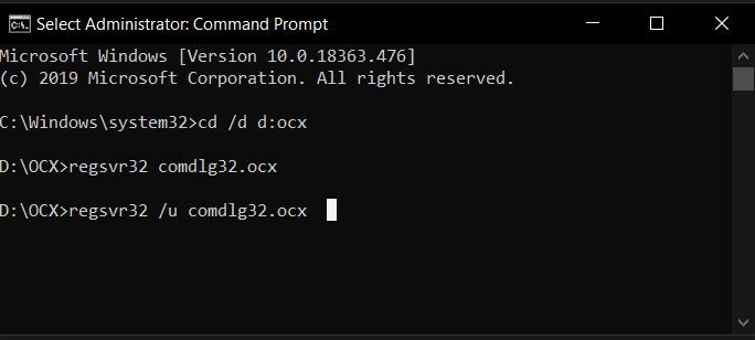 ActiveX control (OCX)